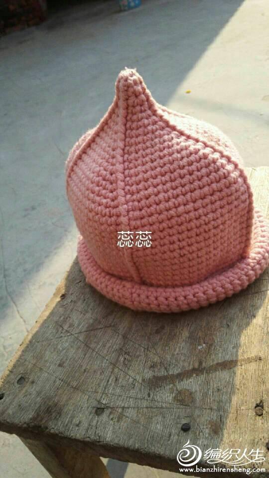 钩针奶嘴帽