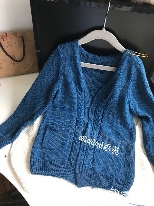 棒针宝宝开衫毛衣