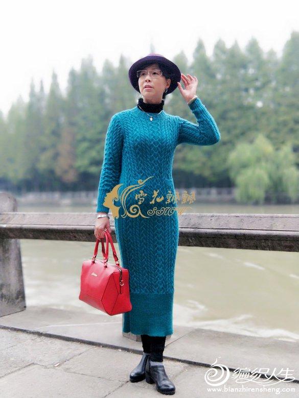 手工编织毛线裙