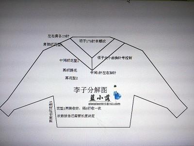 【蓝小落】Plum李子-仿外网提花套衫 - 蓝小落 - 蓝小落的博客