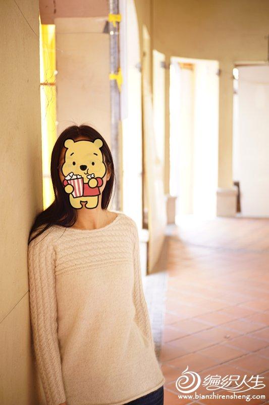 横织女士毛衣
