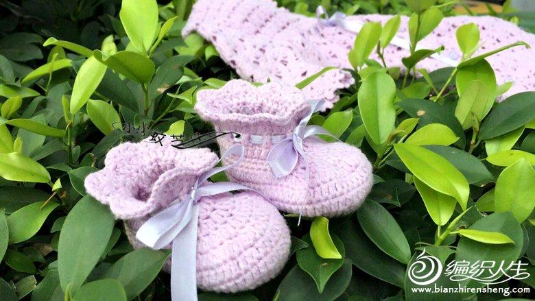 钩针宝宝鞋