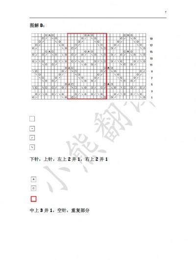 小熊翻译——绽放 宽松后背镂空毛衣 - yao064 - 众里寻他千百度