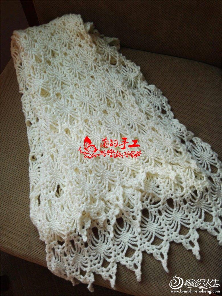 钩针蕾丝围巾