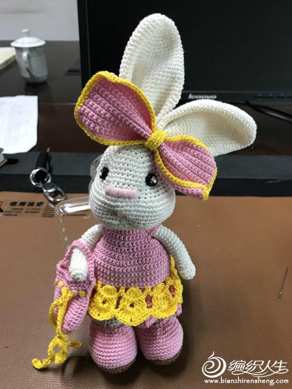 钩针歪嘴兔