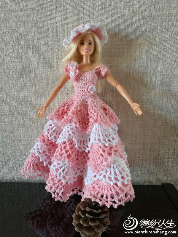 手工编织芭比裙