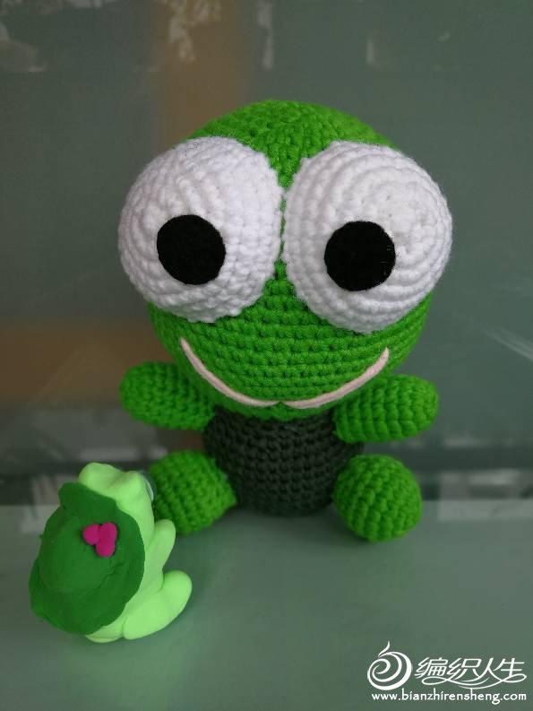 钩针大眼蛙