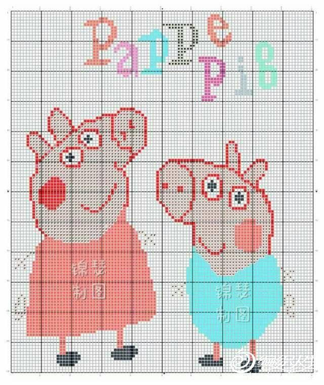 儿童毛衣pappe pig图案