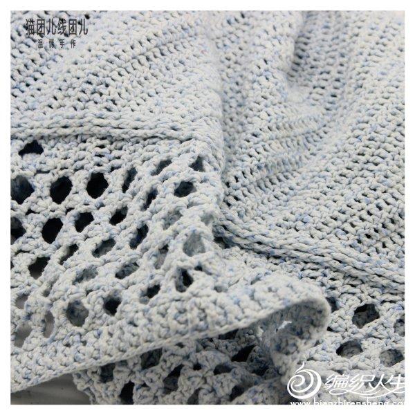 编织教程 时尚大气蝙蝠袖镂空女士钩针长款外套开衫
