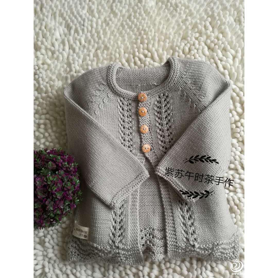 宝宝开衫小毛衣