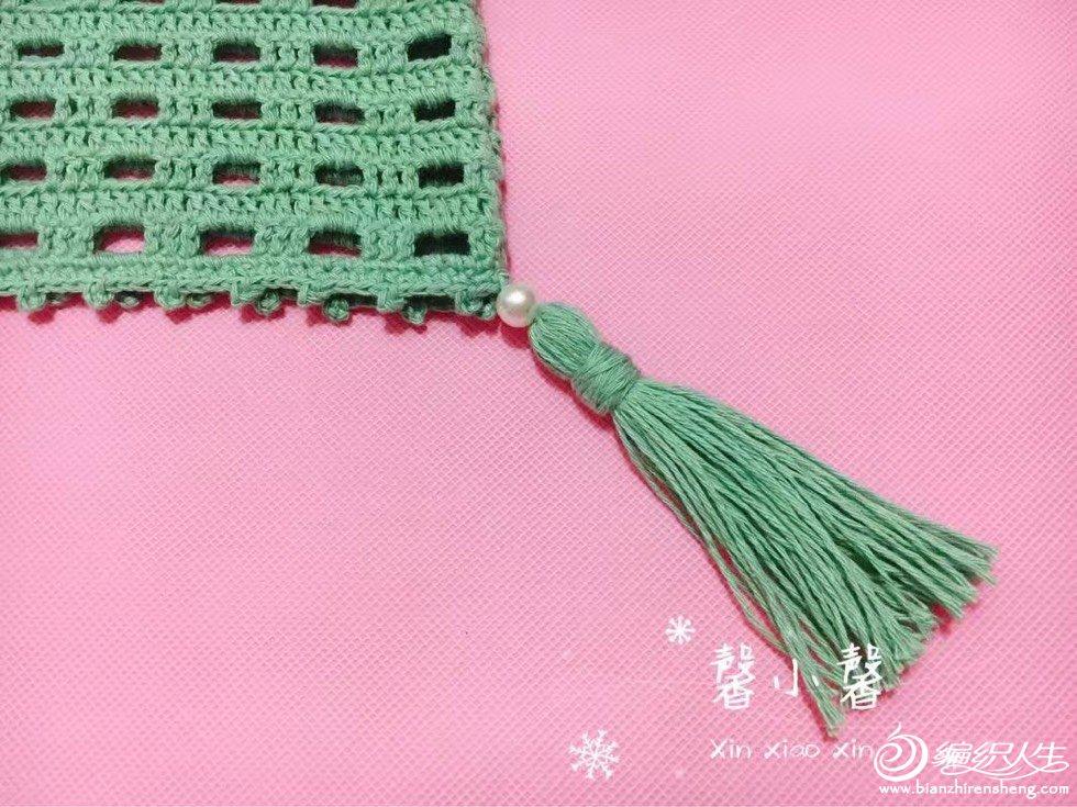 仿夏约 简单好钩儿童钩针镂空小罩衫-编织教程-编织
