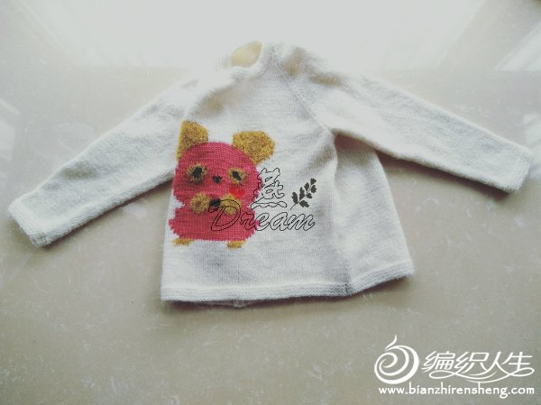 儿童棒针毛衣图案