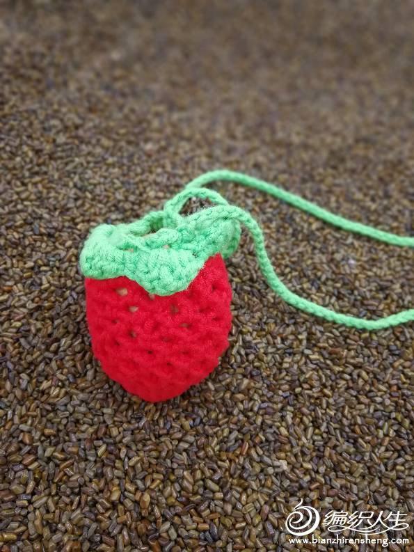 儿童毛衣编织交流 69 儿童毛衣(钩针) 69 【菲菲手工】草莓蛋袋