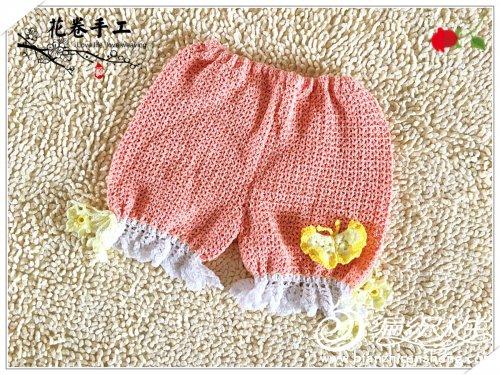 宝宝钩针短裤