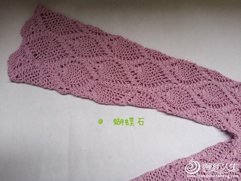 【蝴蝶石】向经典致敬之一 —— 菠萝_钩针编织作品秀