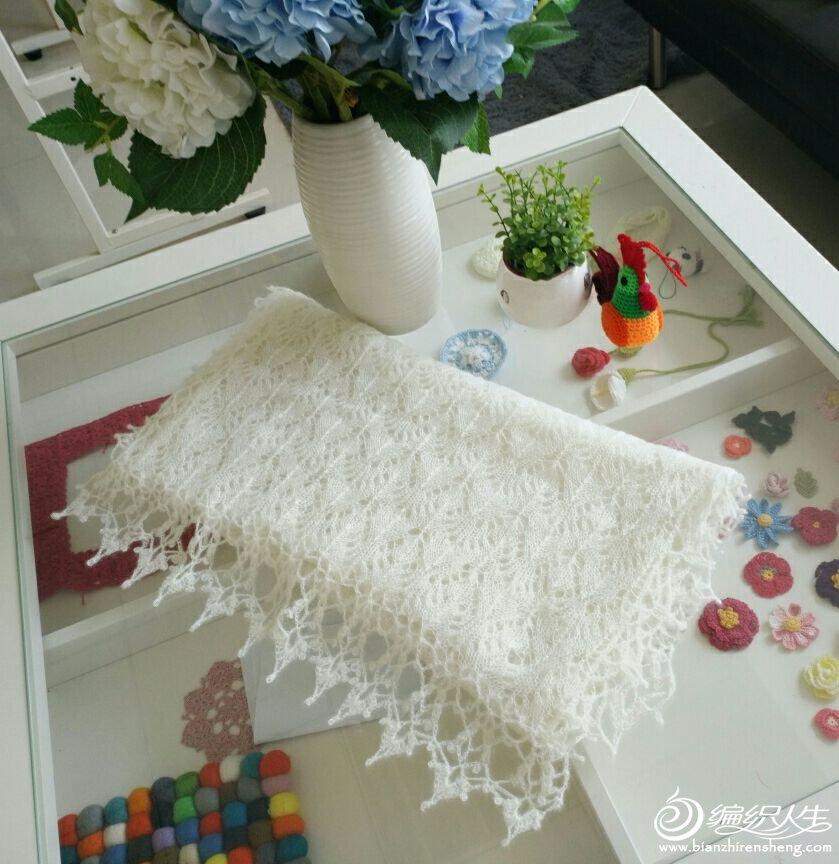 家用编织机机织围巾