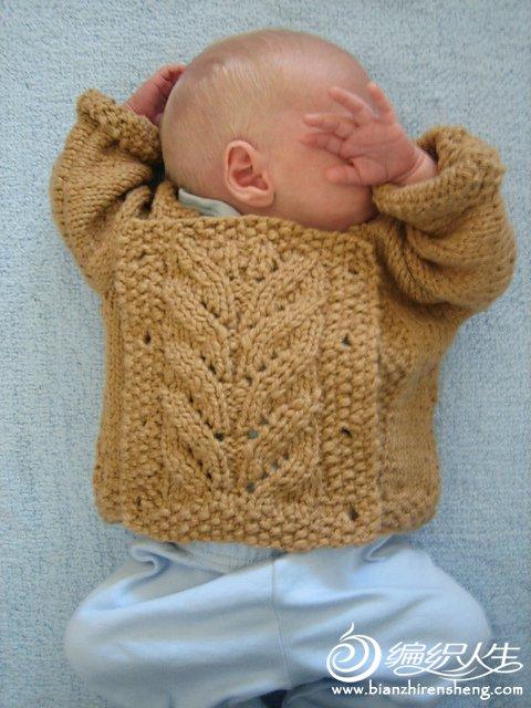 棒针宝宝毛衣