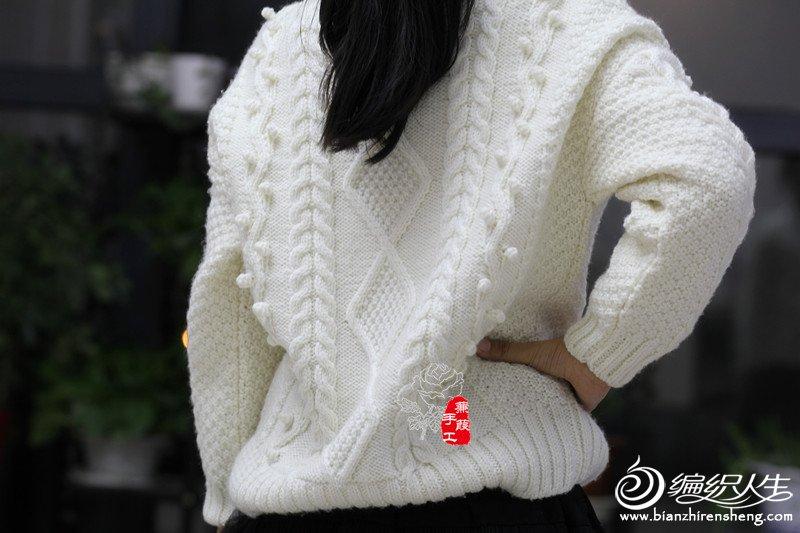 粗针织儿童毛衣