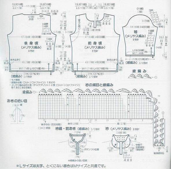 中式旗袍高领毛衣 - 壹一 - 壹一编织博客