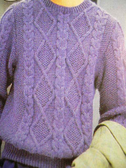 开衫毛衣尺寸 - 编织人生