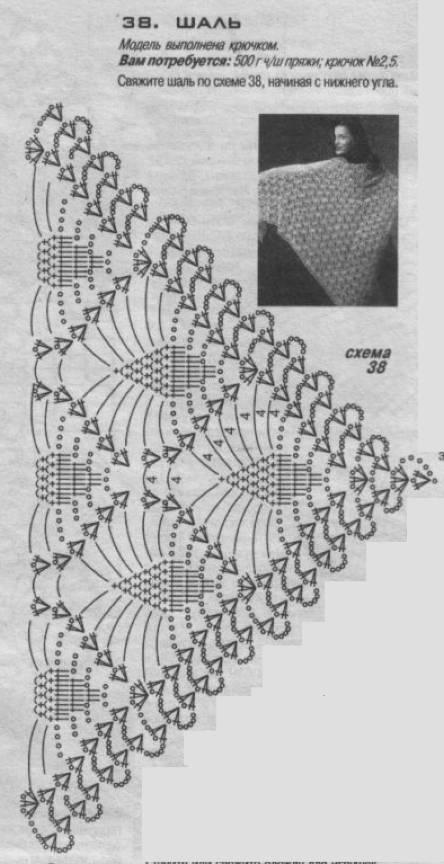 用丝线钩得大披肩 钩针图库欣赏 编织人生论坛 高清图片