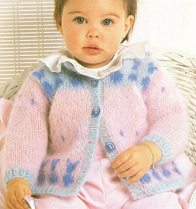 可爱的宝宝,漂亮的毛衣