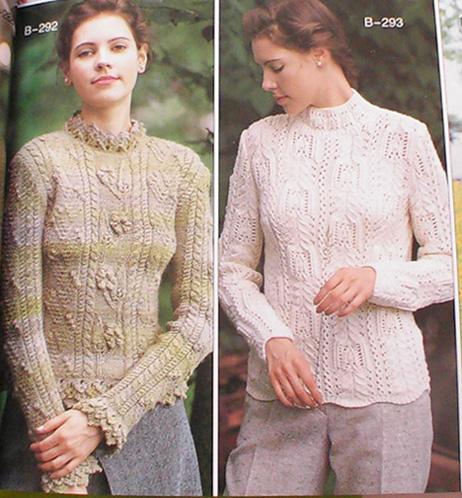两款毛衣图