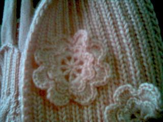 围巾上的小花