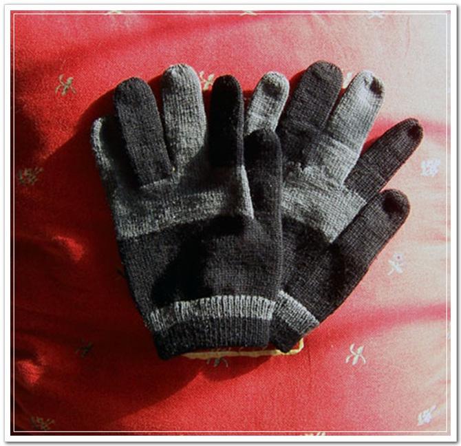 给老公的手套
