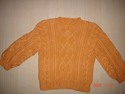 橙色绢丝羊绒