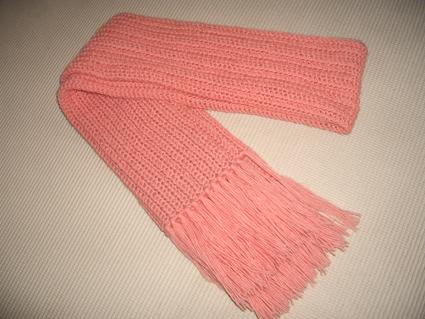 用便宜的三七羊毛线细线双股织的网眼长围巾