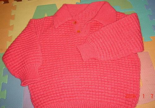 这件是妹妹织的