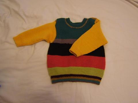 姥姥织的毛衣