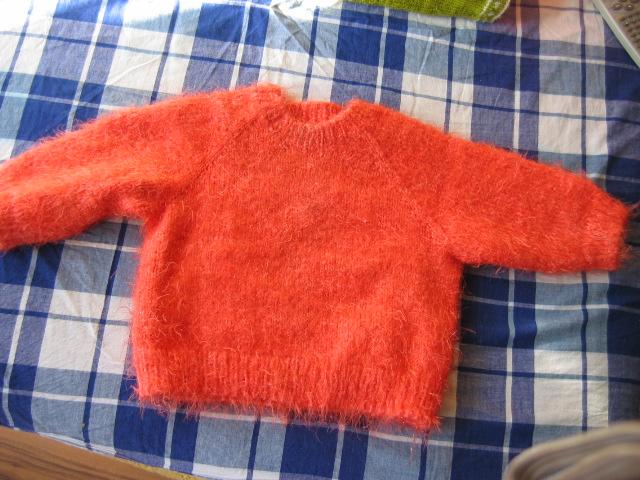 宝姨妈织的毛衣
