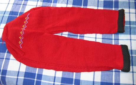 宝舅妈织的毛裤
