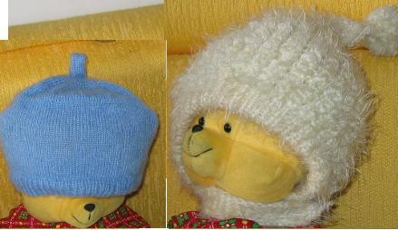 宝姨妈给宝织的帽子