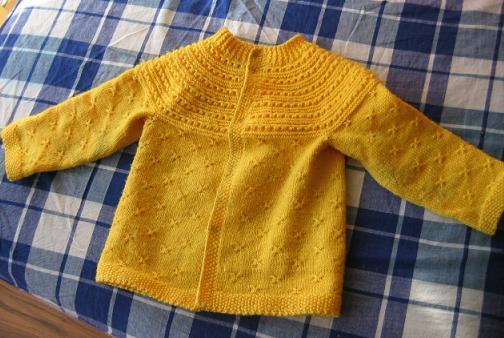 宝堂婶织的毛衣