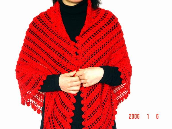 红披肩喜欢吗
