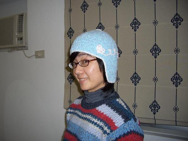 好笑的遮耳帽.JPG