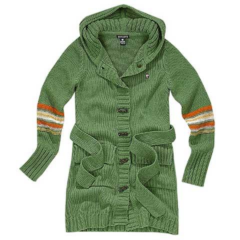 绿色玩转冬季色彩时尚法则