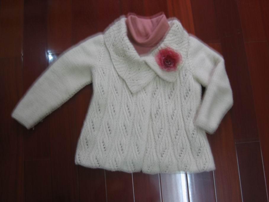 求这件毛衣的图解; 毛衣花样大全鞋垫花样图案大全 钩针编织花样大全1