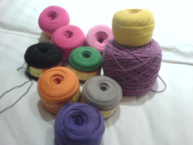 刚买的棉线