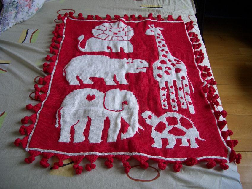 最后一件大的:毛毯