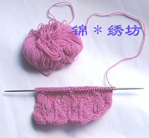试织的一小块,以此计算起针数量,正式织的花样还有点改变,不一样的哟.