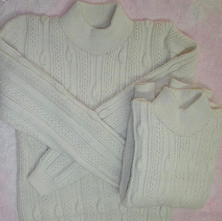 我老妈织给我儿子的兄弟装