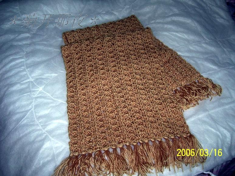 织好的围巾图1