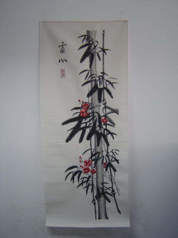 韩国六屏风之竹