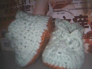 第一双婴儿鞋