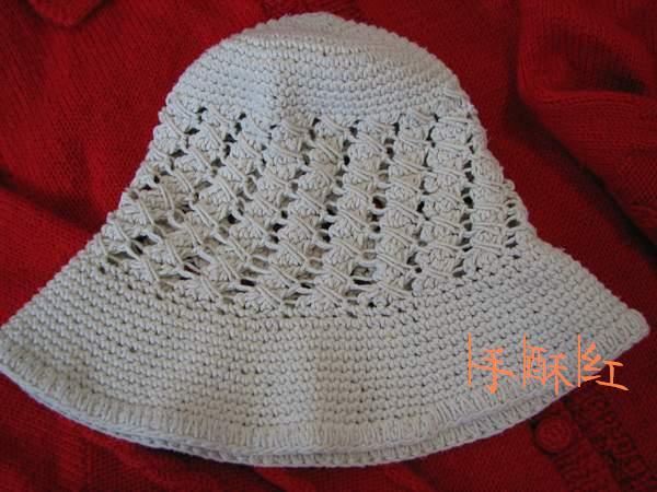 夏天最喜欢的一个帽子,棉线