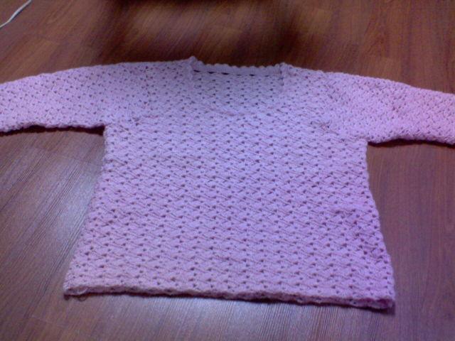 3年前钩的一件毛衣